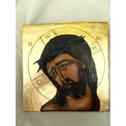 Ikona - Chrystus w cierniowej koronie